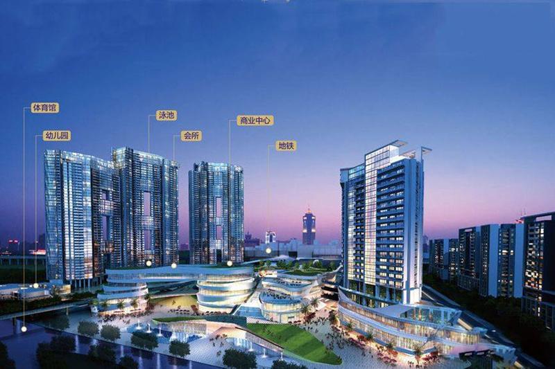 广州亚运城天成项目楼盘开盘